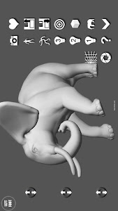 Elephant Pose Tool 3D screenshot 14