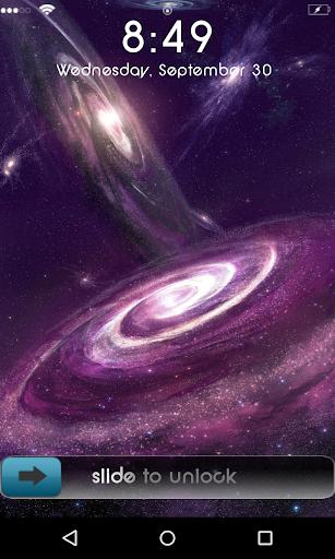 Galaxy Star 3D locker theme