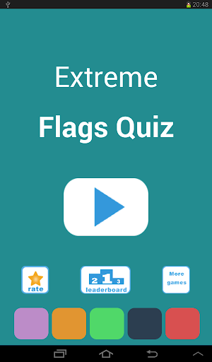 Extreme Flags Quiz