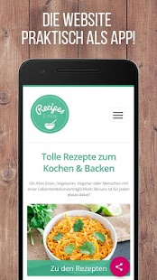 Recipes & more - Rezepte – Miniaturansicht des Screenshots