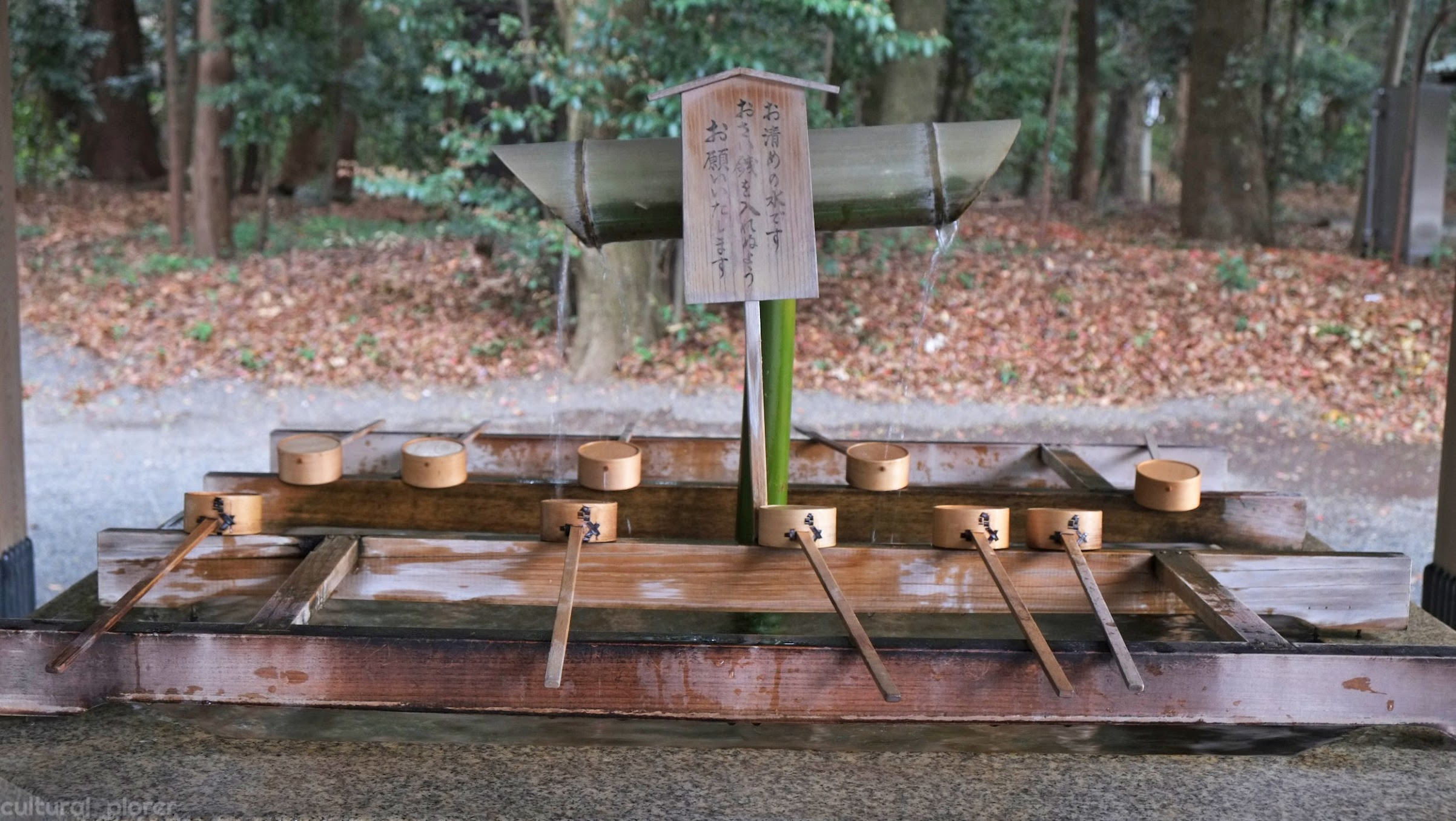 Yoyogi Park purifying station