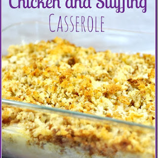 Chicken Casserole With Stuffing And Cream Of Mushroom Soup Recipes