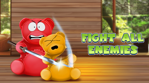 Jelly Ninja: Bear Valerka game (apk) free download for Android/PC/Windows screenshot