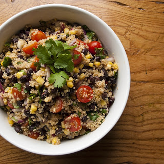 Southwest Black Bean & Quinoa Salad
