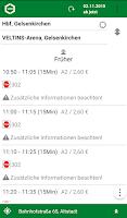 Screenshot of VRR App