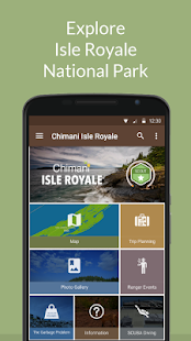 Isle Royale NP by Chimani- screenshot thumbnail