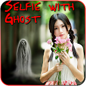 Selfie with Ghost Prank icon