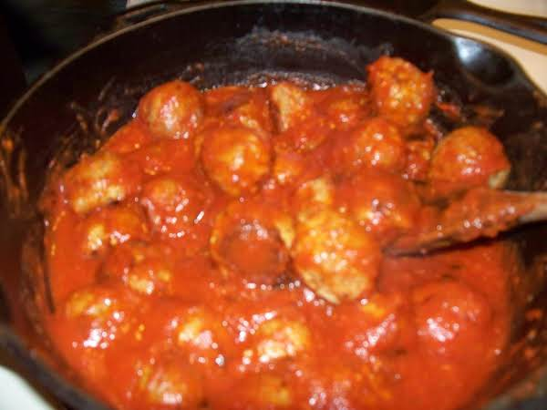 Delicious Turkey Meatballs - Dana's Recipe