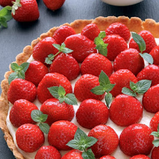 Strawberry Cream Cheese Tart
