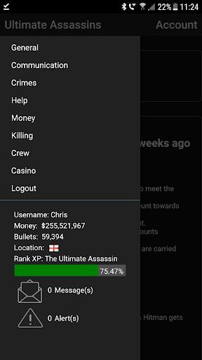 Ultimate Assassins cheat screenshots 1