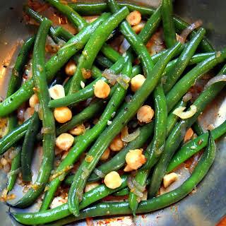Banging Green Beans.