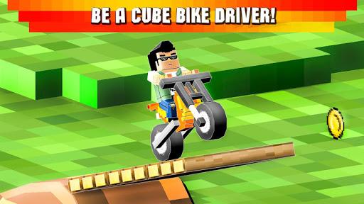 Cube Motocross: Bike Stunts 3D