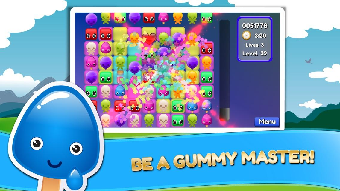 Gummy Match 3- screenshot