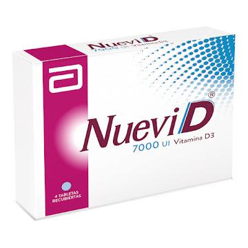 Nuevi D 7000 UI Tableta   Caja x4Tab. Gynopharm Vitamina D3