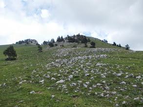 Photo: le sommet du Moixero