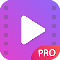 Video player - unlimited and pro version icon