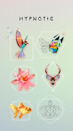 UNICORN Low Poly | Puzzle Art Game | Polygonal Art screenshot 1