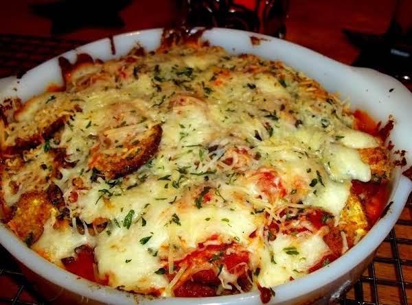 Zucchini Parm - My Way