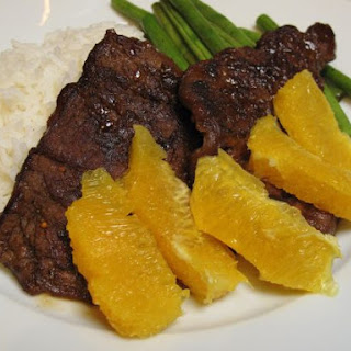 Juicy Orange Beef