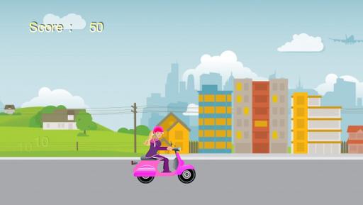 Vespa Ride for Barbie