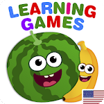 FunnyFood Kindergarten learning games for toddlers 1.4.9.62