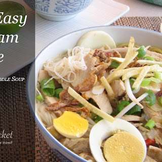 Soto Ayam – Indonesian Chicken Soup With Noodles.