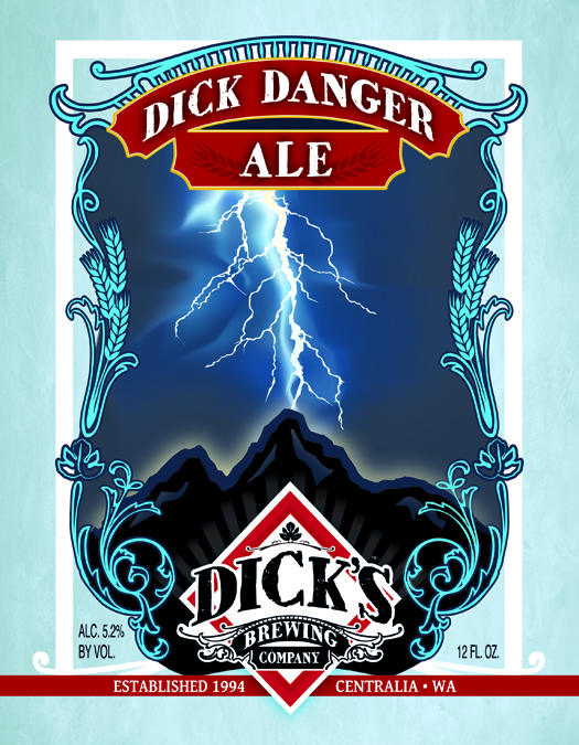 Logo of Dick Danger Ale