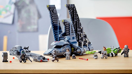 LEGO Revealed New Attack Shuttle Based On The New Animated Star Wars Series