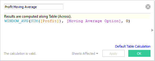 Using parameter in calculation