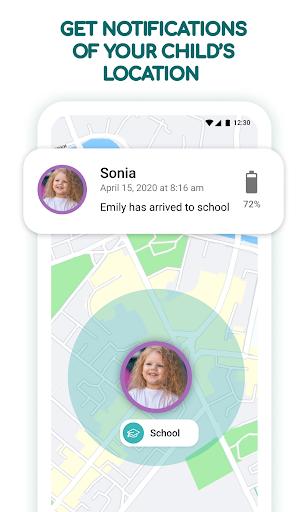 Find kids: Family Locator & u0421hildren GPS Tracker 2.4.20 Screenshots 2