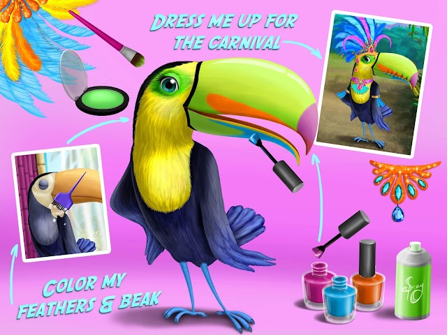 android Jungle Animal Hair Salon FULL Screenshot 9