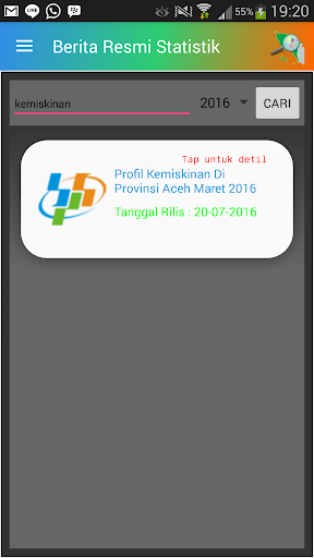 Aceh Mobile Statistic 1.0 screenshots 7