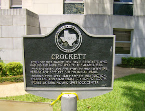 Photo: Crockett (town of) marker