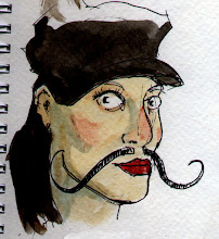 Photo: +Amber Lovell Boone is sporting a Snidely Whiplash by request and makes a stunning Movember girl!