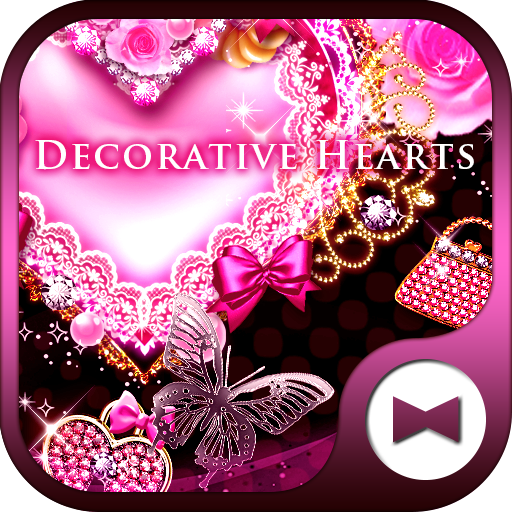 Cute Wallpaper Decorative Hearts Theme Icon