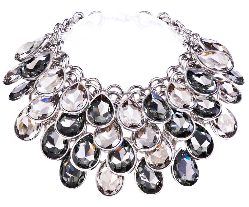 Photo: Simon Harrison Aquitaine Pear Drop Necklace