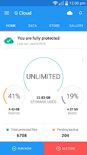 G Cloud Backup App Download For Android 1