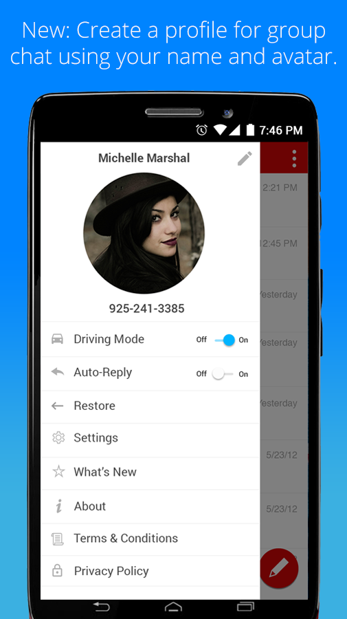 Verizon Messages Android 8