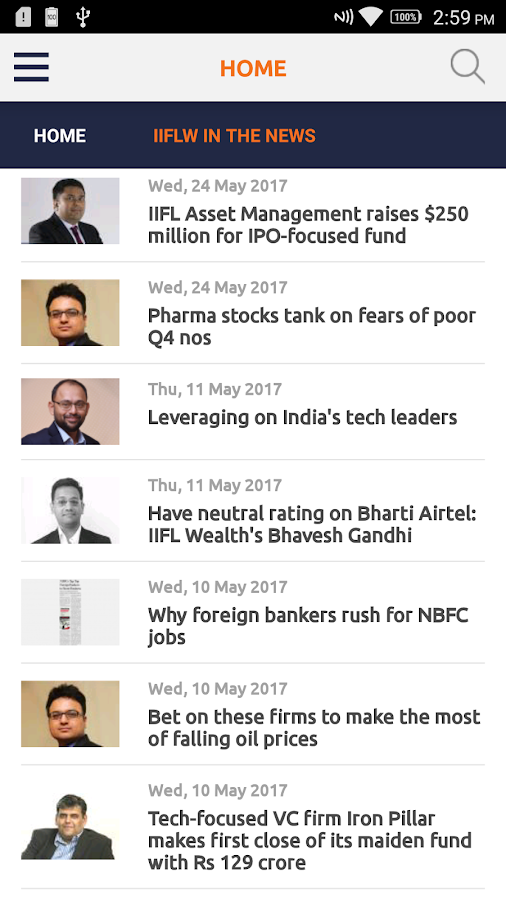 IIFL Wealth- screenshot