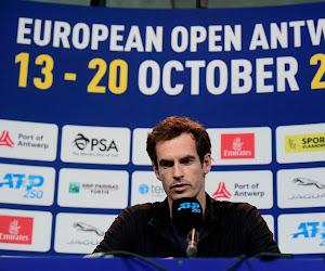"""Andy Murray over inspanningen op de Davis Cup: """"Ik heb het al gedaan in Antwerpen"""""""