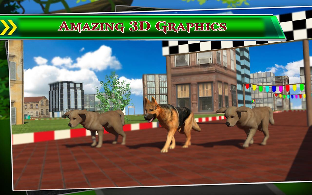 Anjing Balap 3d Apl Android Di Google Play