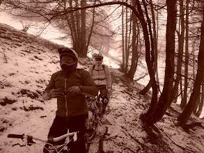 Photo: Une fois en forêt, les conditions s'améliorent