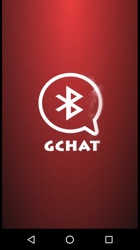 Bluetooth Chat - GChat- screenshot