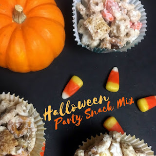 Halloween Party Snack Mix.