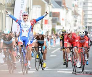 Marc Sarreau is de snelste na enerverende Parijs-Bourges, Van Asbroeck en Capiot op het podium