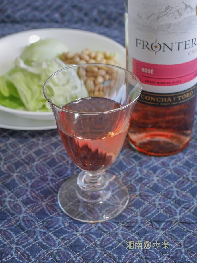 チリワインでひとまず 乾杯