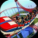Real Roller Coaster Park Ride Rush Simulator icon