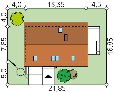 Alicja 2 CE - Sytuacja