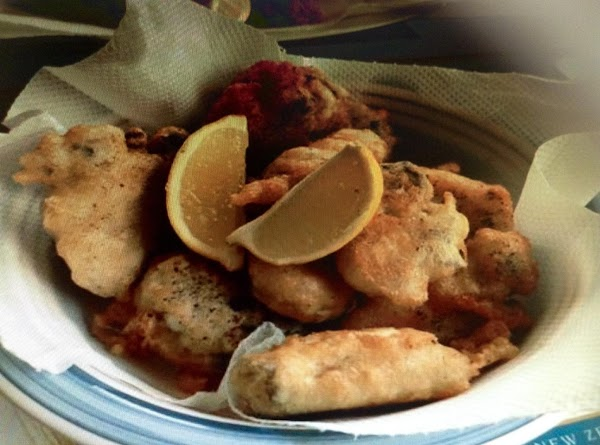 Beer Batter Fried Oysters Recipe