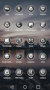 Enyo Gray - Icon Pack screenshot 2